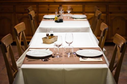 Un restaurante o sitio para comer en Casa Massa