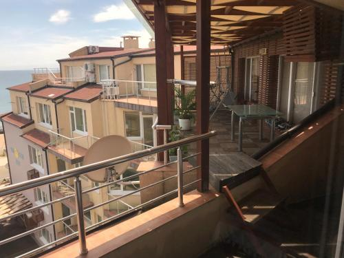 A balcony or terrace at Sunny House Family Complex