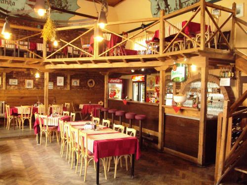 Restaurace v ubytování Hotel U Branky