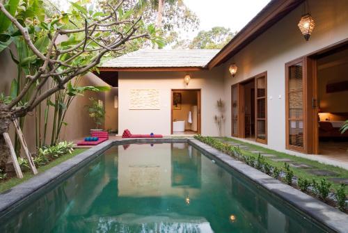 The swimming pool at or near Ajanta Villa