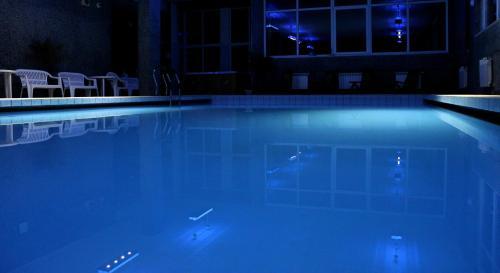 Bazén v ubytování Hotel Petr Bezruc nebo v jeho okolí