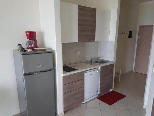 A kitchen or kitchenette at Apartments Alen