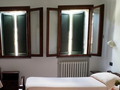 Letto o letti in una camera di Acquacheta Valtancoli