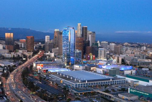 A bird's-eye view of JW Marriott Los Angeles L.A. LIVE