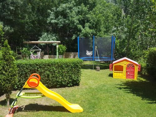 Children's play area at Friends Family Hotel