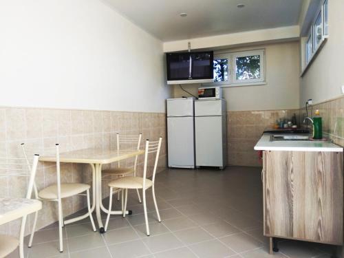 Кухня или мини-кухня в Гостевой дом Камелия