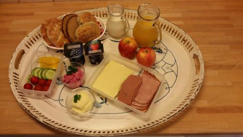 Breakfast options available to guests at Villa Helena Bed & Breakfast - Adults Only