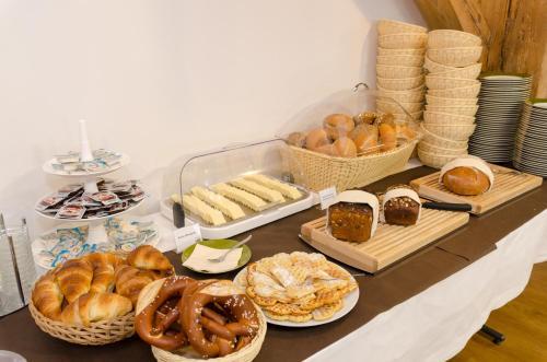 Frühstücksoptionen für Gäste der Unterkunft Hotel Alte Ölmühle Wittenberge