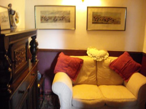 A seating area at Townstal Farmhouse