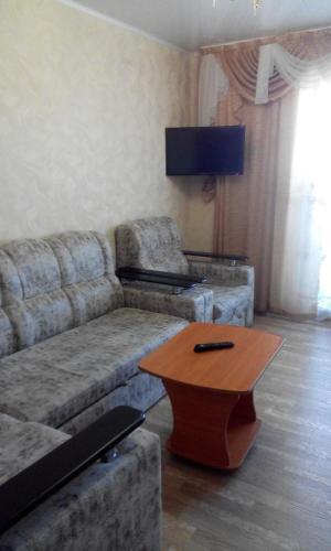 Гостиная зона в Apartments na Kolesova