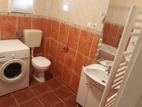 A bathroom at House Marija
