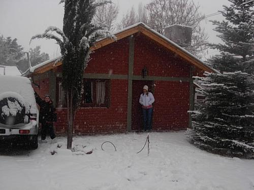 Cabanas Sucot during the winter