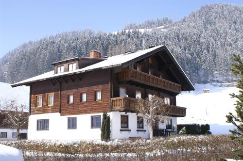 Klausnerhof v zimě