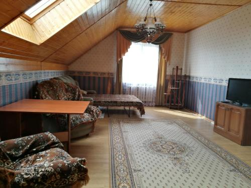 Гостиная зона в Guest House Churilkovo