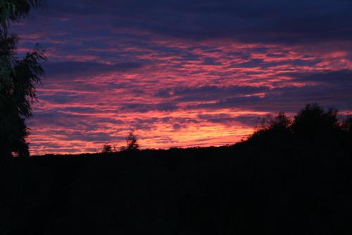 The sunrise or sunset as seen from the inn or nearby