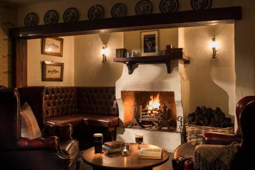 A seating area at Bushmills Inn Hotel & Restaurant