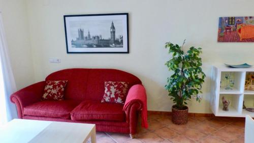 Zona de estar de Apartamento en Dénia - Urb. La Felicidad