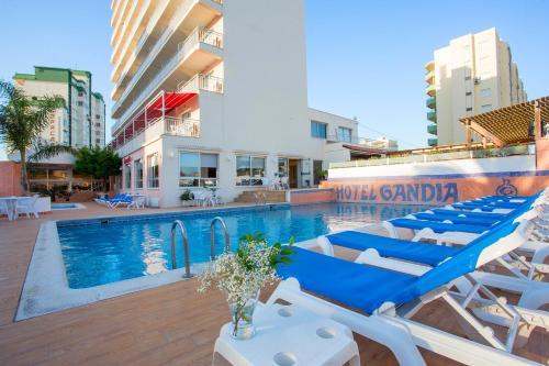 The swimming pool at or near Gandia Playa
