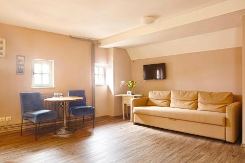 Posezení v ubytování Penzion Kostnický dům