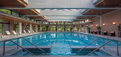 The swimming pool at or near The Hyatt Lodge