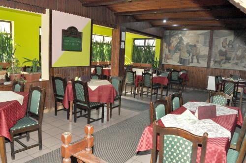 Ресторант или друго място за хранене в Amfora Rooms Caribrod