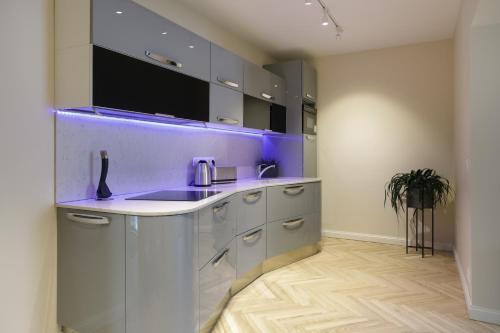 Köök või kööginurk majutusasutuses Dönhoff Residence