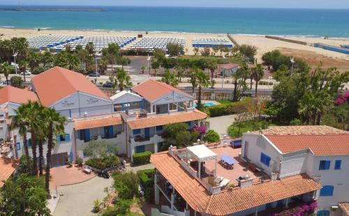 A bird's-eye view of Le Dune Sicily Hotel