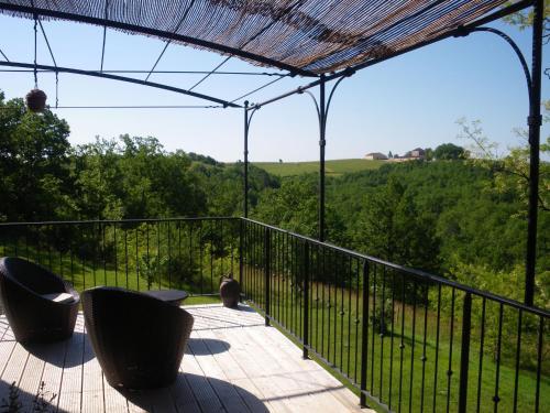 Balcon ou terrasse dans l'établissement Chambres d'Hôtes Coulou
