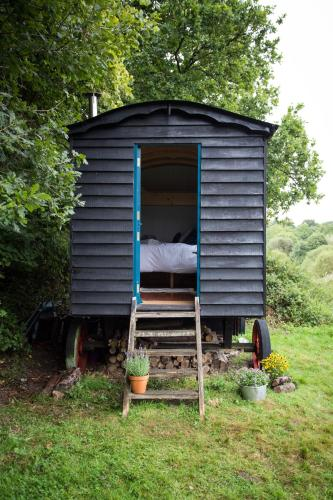 Beautiful, Secluded Shepherd's Hut in the National Park