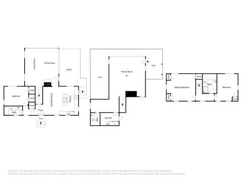 The floor plan of 32 Crosby Lane Home