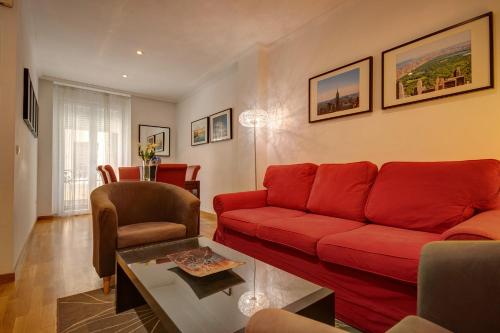 Zona de estar de Friendly Rentals Torrealba