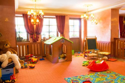 The kid's club at Hotel Leyla