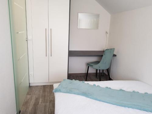 Postel nebo postele na pokoji v ubytování Apartment Prijeboj