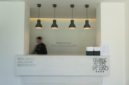 The floor plan of Grande Hotel De Luso