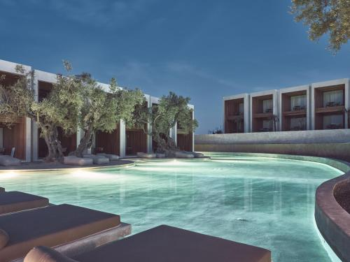 The swimming pool at or near Olea All Suite Hotel