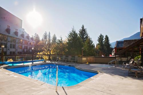 The swimming pool at or near Whistler Village Inn & Suites