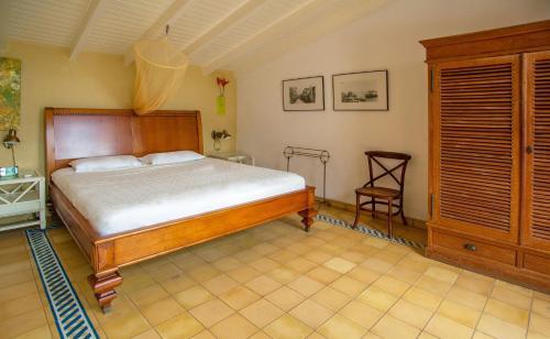 Cama ou camas em um quarto em Sun Reef Village on Sea