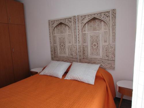 Cama o camas de una habitación en La Casa de Burgui