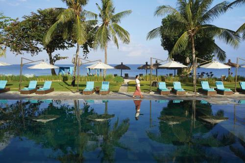The swimming pool at or near Jimbaran Puri, A Belmond Hotel, Bali
