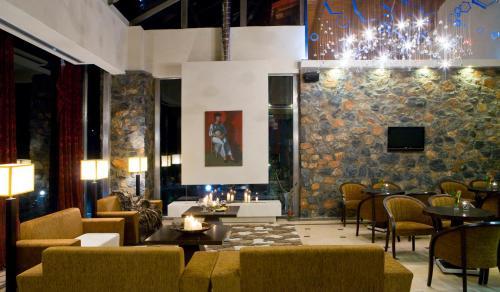 Εστιατόριο ή άλλο μέρος για φαγητό στο Domotel Neve Mountain Resort & Spa