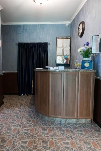The lobby or reception area at Zoremma Mini-hotel