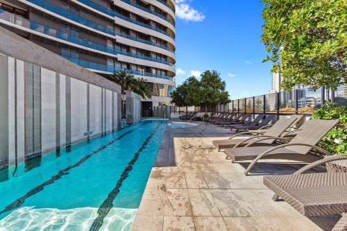 The swimming pool at or near Oracle - 5 Star Luxury - Level 25