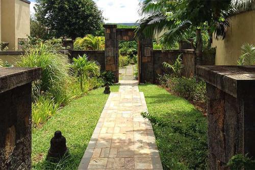 A garden outside Villa Laguna by Oazure 9-14 persons