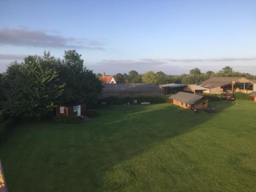 A garden outside Dawn Chorus Holidays