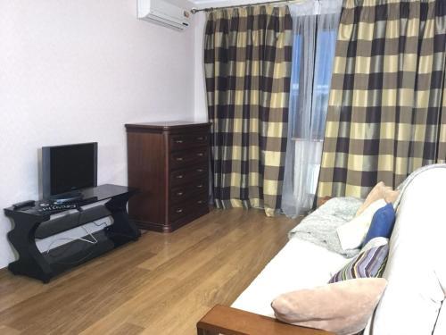 Гостиная зона в Apartments on Kashirskoye sh, 32к2