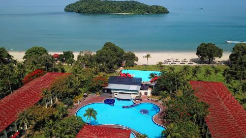 A bird's-eye view of Holiday Villa Beach Resort & Spa Langkawi