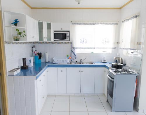 A cozinha ou cozinha compacta de The Lush