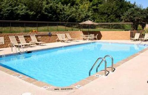 The swimming pool at or near Hampton Inn State College