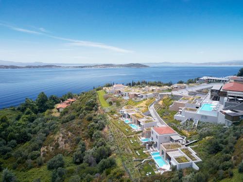 Άποψη από ψηλά του Eagles Villas