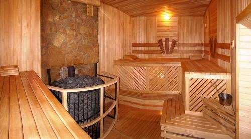 Spa and/or other wellness facilities at Hotel Zolota Pidkova